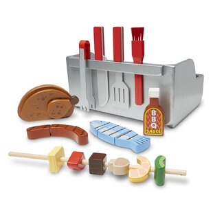 24 Piece Rotisserie and Grill Barbecue Set by Melissa & Doug