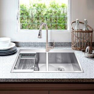 42 Inch Drop In Kitchen Sink Wayfair