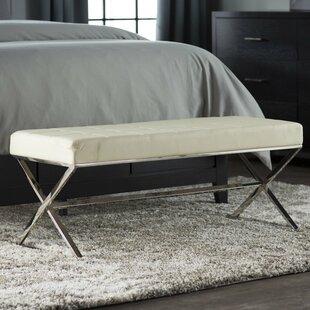 Wade Logan Cochran Upholstered Bench