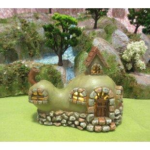 Fairy Garden Pear House Stone Statue by Hi-Line Gift Ltd.