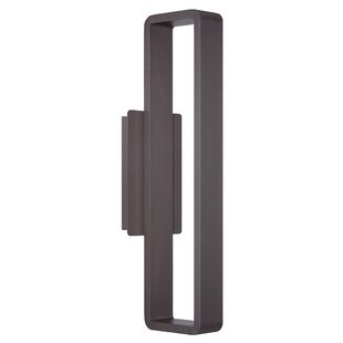 Affordable Price Rotella 1-Light LED Outdoor Wall Sconce By Brayden Studio