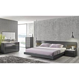 Wade Logan Boyertown Platform Configurable Bedroom Set