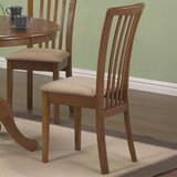 Weid Solid Wood Slat Back Side Chair (Set of 2) by August Grove®