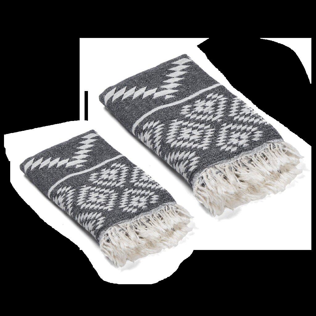 Union Rustic Malden 2 Piece Turkish Cotton Towel Set Reviews Wayfair