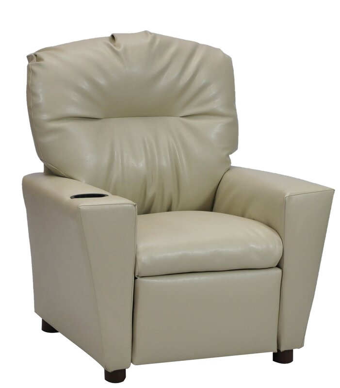 Rubino Kids Recliner With Cup Holder