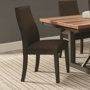Mcnichols Wooden Upholstered Dining Chair (Set of 2)