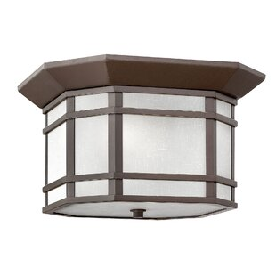 Hinkley Lighting Cherry Creek Outdoor Flush Mount
