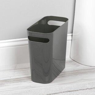 InterDesign Uma 2.5 Gallon Waste Basket