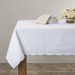 Boncek Embroidered Tablecloth