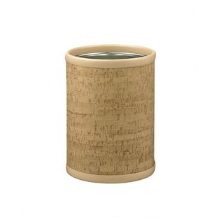 Kraftware Natural Cork 2 Gallon Waste Basket