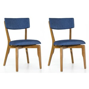 Set of 2 Amit Upholstered Dining Chair (Set of 2) by Corrigan Studio