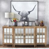 Gasconade 73.1 Wide Pine Wood Sideboard by August Grove®