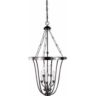 Minster 6-Light Urn Pendant by Volume Lighting