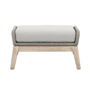 Arney Outdoor Accent Stool by Bungalow Rose