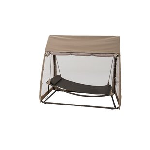 Hanging Polyester Hammock with Stand