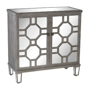 Gable Mirrored 2 Door Accent Cabinet by Mercer41