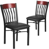 Ringel Contemporary Upholstered Dining Chair (Set of 2) by Red Barrel Studio®
