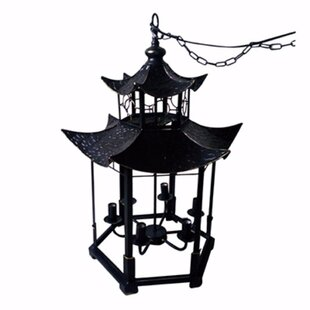 Darby Home Co Clement 6-Light Lantern Pendant