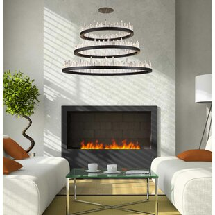 Orren Ellis Rosendo Wagon Wheel Chandelier