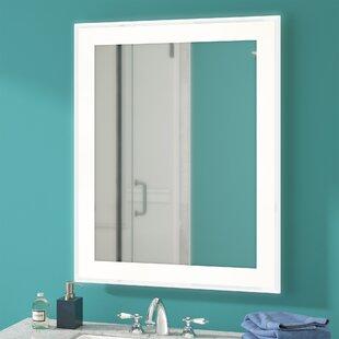 Hadrian Edge Electric Bathroom/Vanity Mirror By Latitude Run