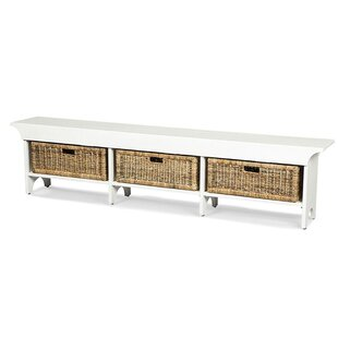 Andrew Wood Bench with Sto..