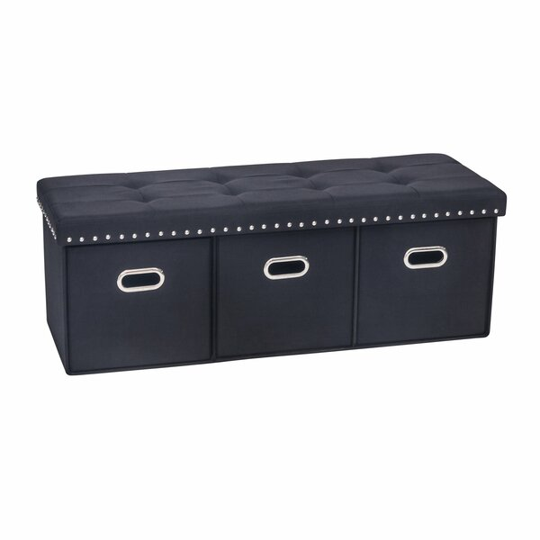 Winston Porter Revis Upholstered Storage Bench & Reviews by Winston Porter