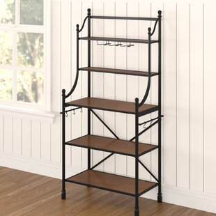 Halpern Iron Baker's Rack by Alcott Hill