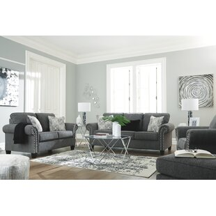 House of Hampton Knepper Sleeper Configurable Living Room Set