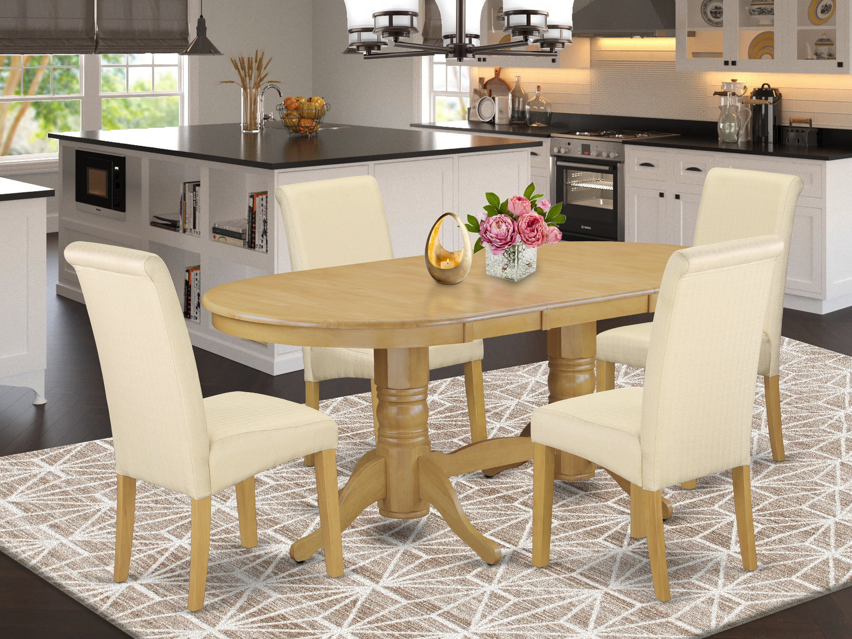 Light Yellow Charlton Home® Kitchen & Dining Room Sets You'll Love ...