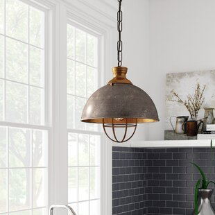 Best Reviews Olathe 1-Light Bowl Pendant By Laurel Foundry Modern Farmhouse