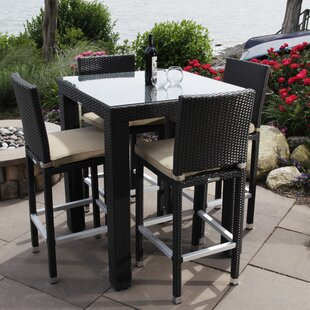 Madbury Road Ibiza 5 Piece Bistro Dining Set