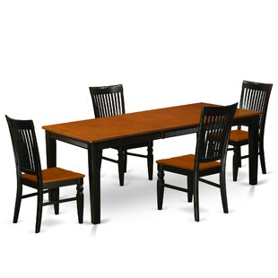 Pilger 5 Piece Extendable Dining Set August Grove