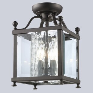 Culpepper 3-Light Semi Flush Mount by Darby Home Co