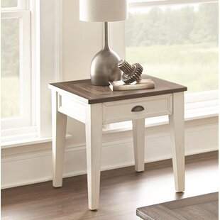 Duclos End Table with Storage