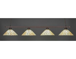 Baywood 4-Light Billiard Pendant by Red Barrel Studio