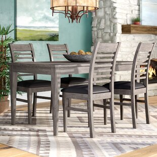 Aldama 5 Piece Dining Set by Loon Peak