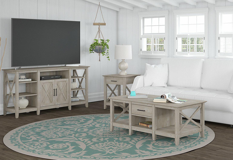 Beachcrest Home Cyra 4 Piece Coffee Table Set Reviews Wayfair