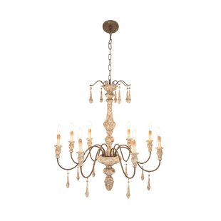 Ophelia & Co. Cerita Traditional 8-light Candle Chandelier