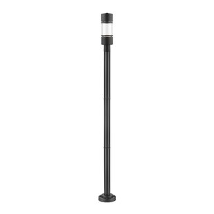 Look for Feder 1-Light LED Outdoor Lamp Post By Ivy Bronx