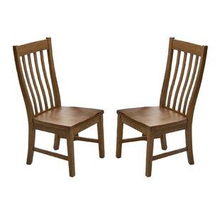 Prado Slat Back Side Chair (Set of 2) by Union Rustic