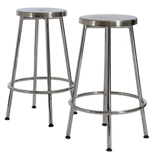 North Adams 30 Bar Stool (Set of 2) Orren Ellis