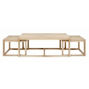 Guerrero 3 Piece Coffee Table Set By Gracie Oaks