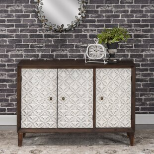 Cloquet 3 Door Accent Cabinet by Bungalow Rose