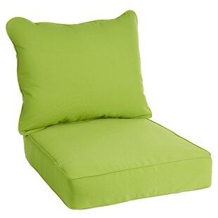 Sunbrella Lounge Chair Cushion-Pillow Set (Set of 2)