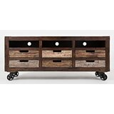 Plumerville Solid Wood TV Stand for TVs up to 65 by Loon Peak®