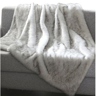 Chateaugay Heavy Faux Fur Blanket