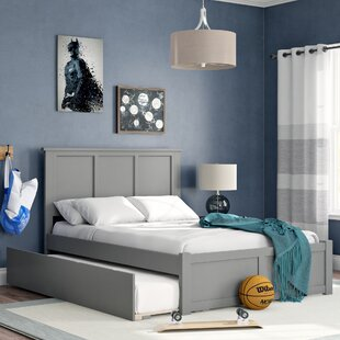 Find a Alanna Full Platform Bed with Trundle by Harriet Bee Reviews (2019) & Buyer's Guide