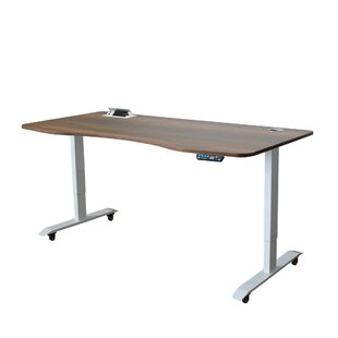 Hertzler Adjustable Standing Desk by Symple Stuff Best Design