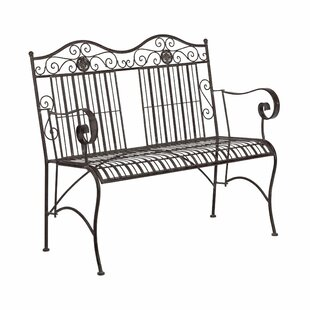Terrace Hill Metal Bench By Butlers