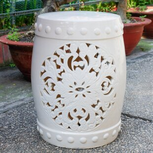 House of Hampton Nieto Ceramic Garden Stool